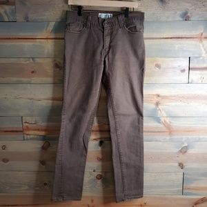 Levi's Super Skinny 510 boys/youth brown jeans